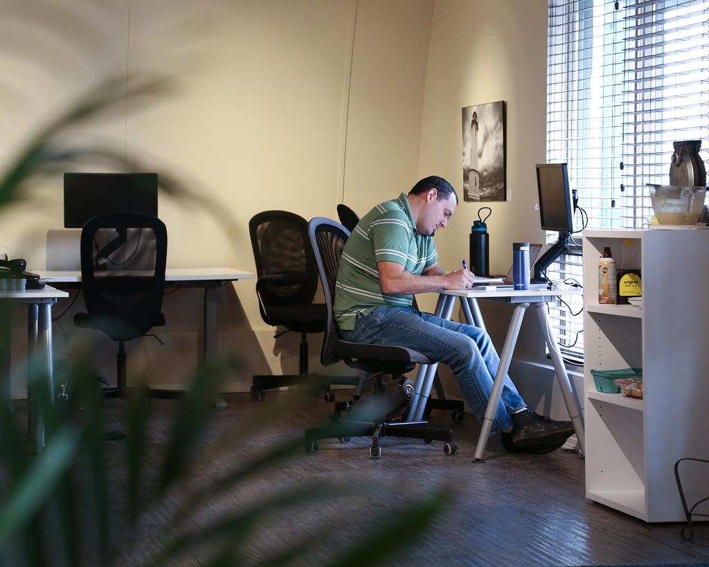 Rob at work